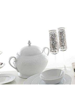 Kütahya Porselen Açelya Yemek Takımı Seti 48Parça küt071