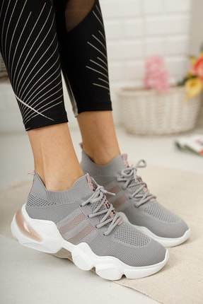meyra'nın ayakkabıları Sneakar Gri 0