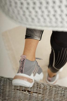 meyra'nın ayakkabıları Sneakar Gri 4