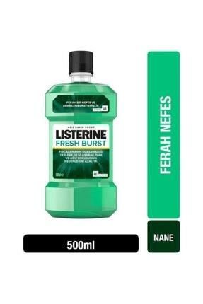 Listerine Fresh Burst Ferah Nane Gargara 500 ml 1