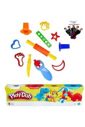 Play Doh Oyun Hamuru Kalıpları Ve 4 Renk Oyun Hamuru Kitap Ayracı 1