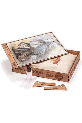 King Of Puzzle Kırat Illüstrasyon Ahşap Puzzle 1000 Parça 1