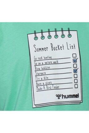 HUMMEL HMLBUCKET T-SHIRT Yeşil Erkek Çocuk T-Shirt 101086159 3