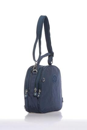Smart Bags Smb3063-0033 Lacivert Kadın Sırt Çantası 1