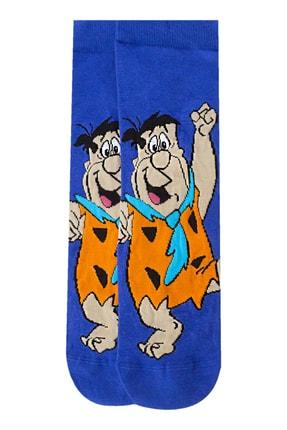Socksarmy Bugs Bunny Barney Moloztaş Desenli 3 'li Çorap Seti 2