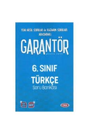 Data Yayınları 6.Sınıf Garantör Türkçe Soru Bankası 0