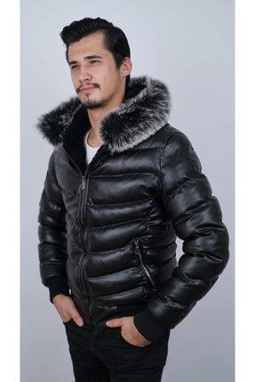 Ogb Tekstil Erkek Siyah Şişme Mont 1