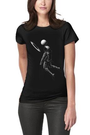 Picture of Astronaut Basketball Kadın Tişört