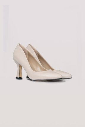 Topuklu Deri Ayakkabı (Ten Rengi) 20SSMZL7012008-TEN RENGİ