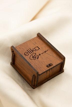 Elika Bijoux Kadın Geometrik Model Zarif Küpe Set 4