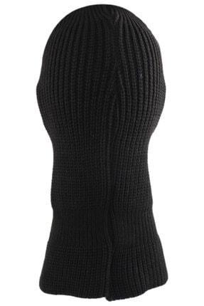 zirve şapka Kışlık Ünisex 3 Gözlü Kar Maskesi Siyah Kılıç 3
