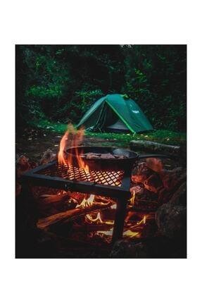 Nurgaz Ateş Üstü Izgara Mangal Kamp Piknik Izgarası (Ng Aug) 3