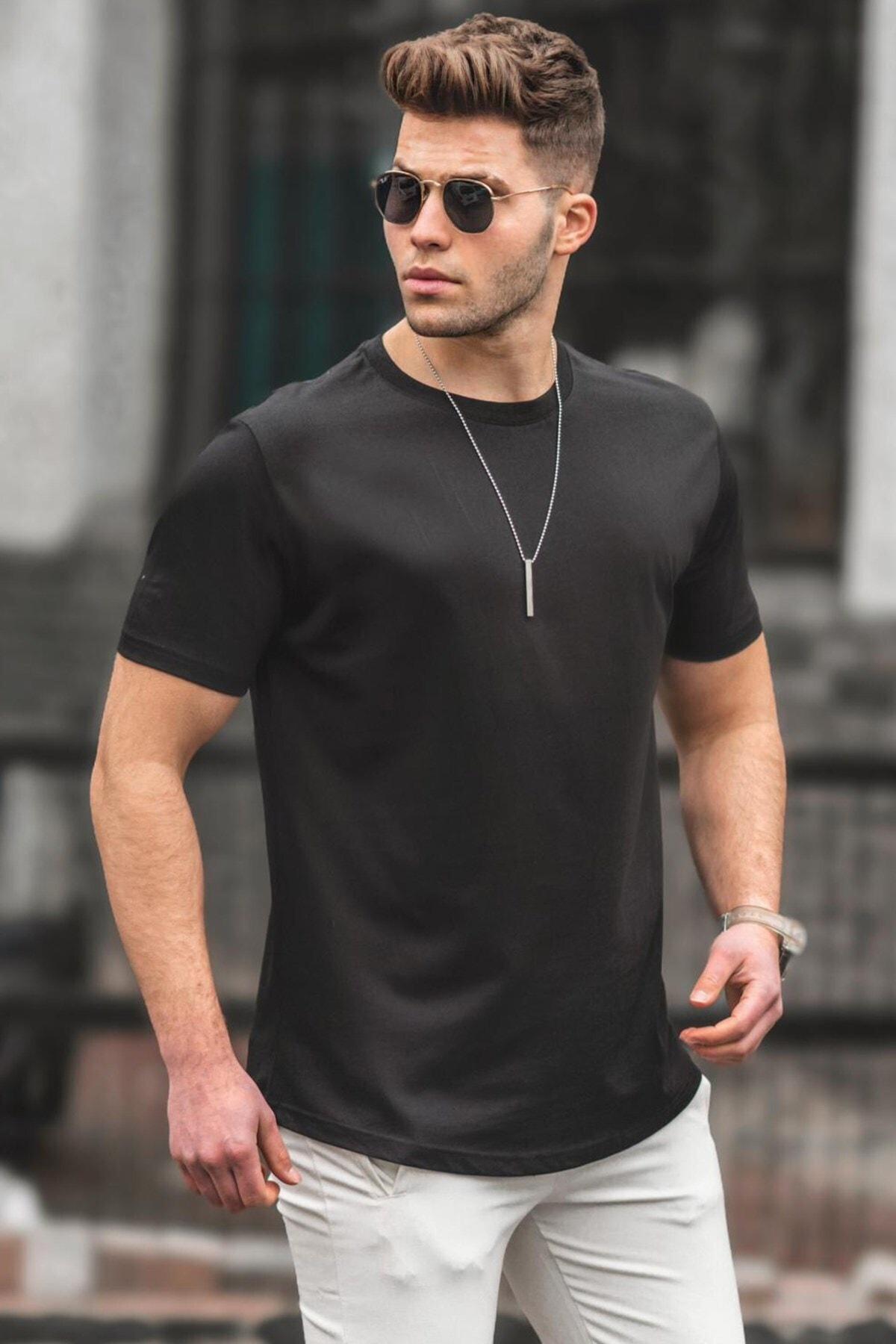 Erkek  Siyah Tişört 4951