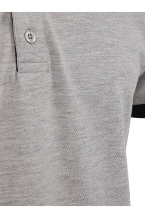 Ltb Erkek  Gri Kısa Kol Polo Yaka T-Shirt 012218400760890000 2