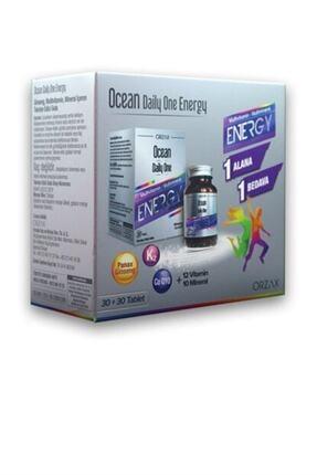Ocean Daily One Energy 2'li Paket 30 Tablet 0
