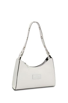 Housebags Kadın Beyaz Baguette Çanta 195 1