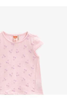 Koton Kız Bebek Pembe T-Shirt 2