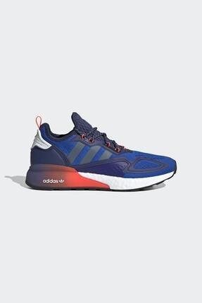 adidas Erkek Mavi Günlük Yürüyüş Ayakkabısı Zx 2k Boost Fx8836 0
