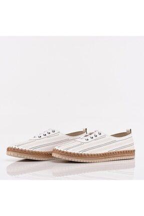 Hotiç Beyaz Yaya Kadın Günlük Ayakkabı 2