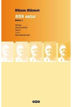 Yapı Kredi Yayınları 835 Satır Şiirler 1 0