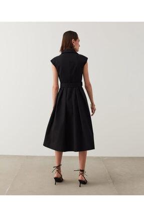 İpekyol Kemerli Midi Elbise 3