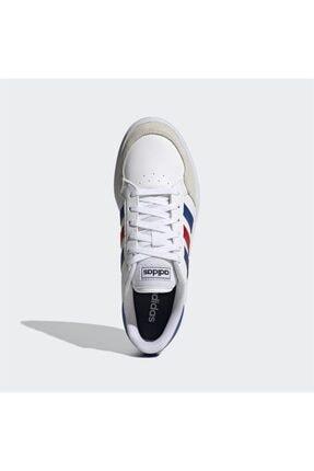 adidas BREAKNET Beyaz Erkek Sneaker Ayakkabı 101079837 1