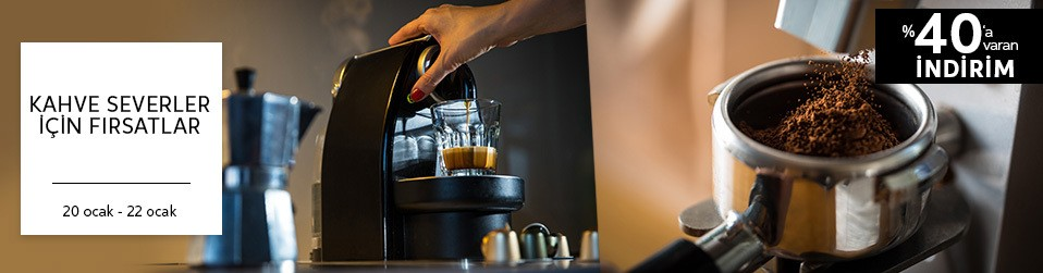 Kahve Makinelerinde Fırsatlar