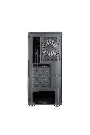 TURBOX Xinzhao 500w Power 4xrainbow Fan Tamperli Yan Mesh Ön Panel Gaming Oyuncu Bilgisayar Kasası 4