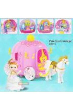 dreamtify Similan Benim Ilk Prenses Arabam Bal Kabağı Evi 44 Parça Barbie Tarzı 1