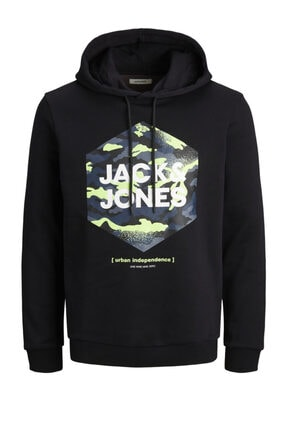 Jack & Jones Kapüşonlu Sweatshirt 12184710 Jjprıme 0
