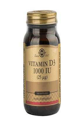 Solgar Vitamin D3 1000 Iu 100 Softgel 0
