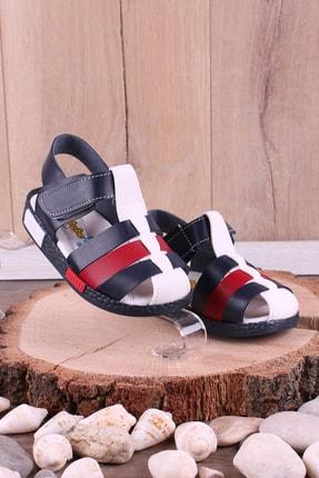 Akıllı Şirin Ortopedik Ilk Adım Erkek Çocuk Sandalet 1