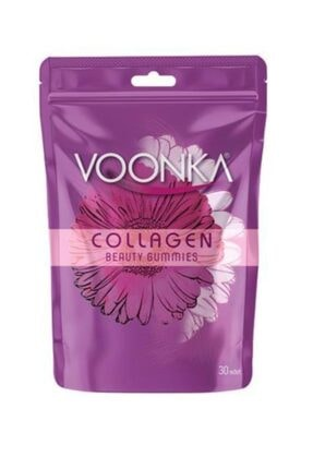 Voonka Beauty Collagen Gummies Takviye Edici Gıda 30 Adet 0