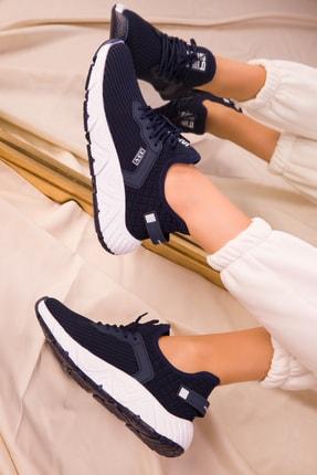 Soho Exclusive Lacivert Kadın Sneaker 15772 0