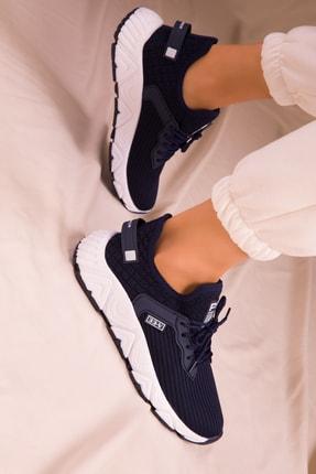 Soho Exclusive Lacivert Kadın Sneaker 15772 1