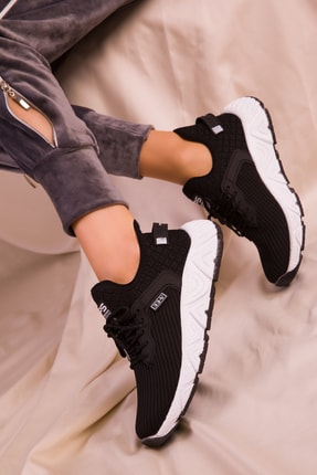 Soho Exclusive Siyah Kadın Sneaker 15772 0