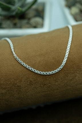 ONNUMARAGÜMÜŞÇÜLÜK 925 Ayar Gümüş Bismark Erkek Zincir Kolye X-4 1