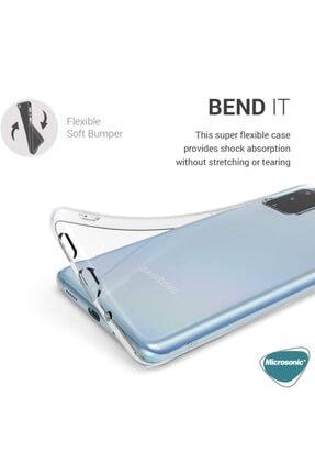 Samsung Microsonic Galaxy S20 Kılıf Transparent Soft Beyaz 2