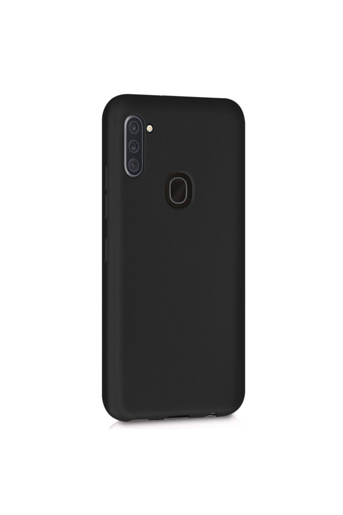 Samsung Microsonic Matte Silicone Galaxy A11 Kılıf Siyah