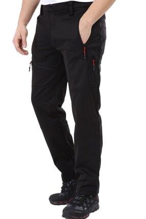 Ghassy Co Erkek Tactical Outdoor Su Geçirmez Siyah Softshell Pantolon 2