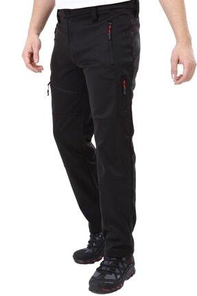 Ghassy Co Erkek Tactical Outdoor Su Geçirmez Siyah Softshell Pantolon 4
