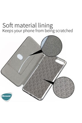 Samsung Microsonic Galaxy A31 Kılıf Ultra Slim Leather Design Flip Cover Bordo 4