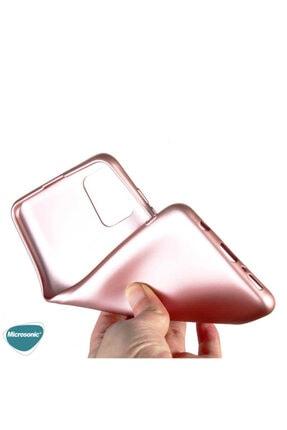Samsung Microsonic Matte Silicone Galaxy A31 Kılıf Kırmızı 4