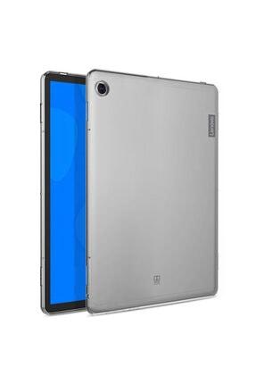 "LENOVO Microsonic Tab M10 Plus Tb-x606f 10.3"" Kılıf, (za5t0215tr) Transparent Soft Beyaz 0"