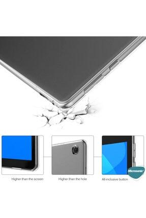 "LENOVO Microsonic Tab M10 Plus Tb-x606f 10.3"" Kılıf, (za5t0215tr) Transparent Soft Beyaz 3"