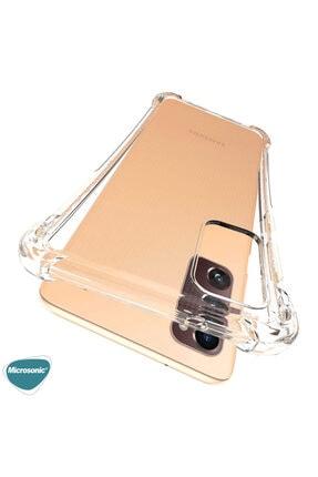 Samsung Microsonic Galaxy S20 Fe Kılıf Shock Absorbing Şeffaf 4