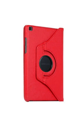 """Samsung Microsonic Galaxy Tab A 8"""" 2019 T290 Kılıf 360 Rotating Stand Deri Kırmızı 1"""