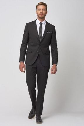 Altınyıldız Classics Erkek Regular Fit Siyah Takım Elbise 0