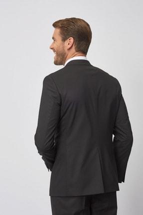 Altınyıldız Classics Erkek Regular Fit Siyah Takım Elbise 4