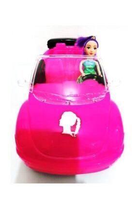 DLN 36 Cm Barbie Arabası Pembe King Toys Evcilik Kız Oyuncak 3